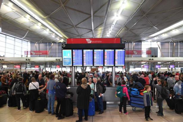 Australie: Une panne électrique cause d'importants retards à l'aéroport de Sydney