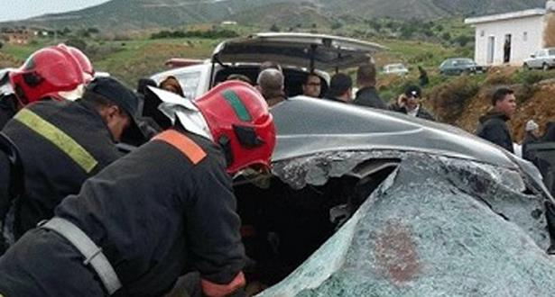 إصابة ستة أشخاص في حادثة سير قرب فاس