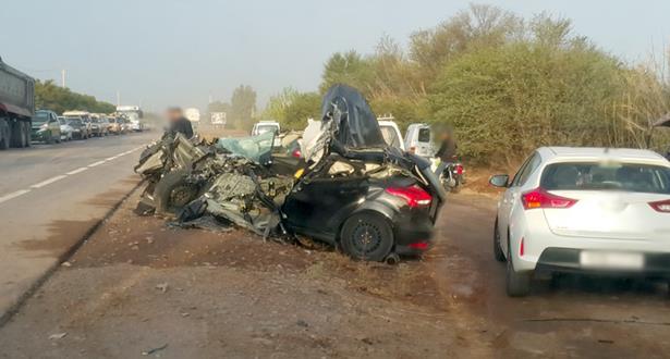 ثلاثة قتلى في حادثة سير مروعة بنواحي مراكش