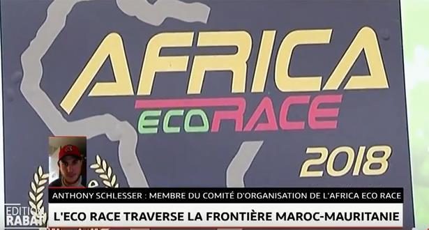 L'ECO RACE Traverse la frontière Maroc-Mauritanie
