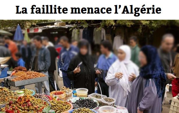 الجزائر على حافة الهاوية وميزانها التجاري يعاني من عجز خطير