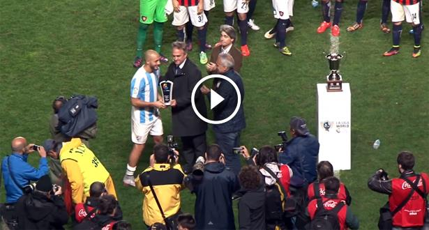 فيديو .. أمرابط أفضل لاعب في مباراة مالقة وسان لورنزو الأرجنتيني