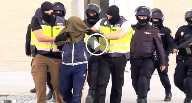 Sebta: arrestation d'un homme accusé d'être un recruteur présumé de Daesh (Vidéo)