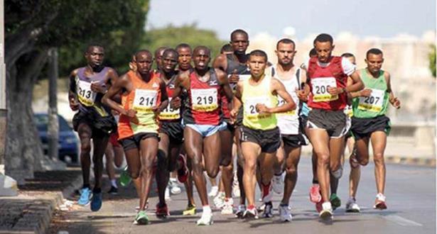 "Le Marocain Khalid Lablaq remporte le semi-marathon ""Altitude Nahouri"" du Burkina Faso"