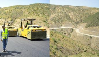 Voie express Taza-Al Hoceima: plusieurs chantiers sont en cours d'achèvement
