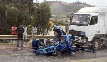 Trois morts dans un accident sur la route reliant Rabat à Sala al Jadida
