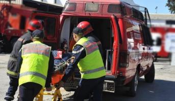 مصرع طفلين وإصابة والدتهما بجروح في حادثة سير بتطوان