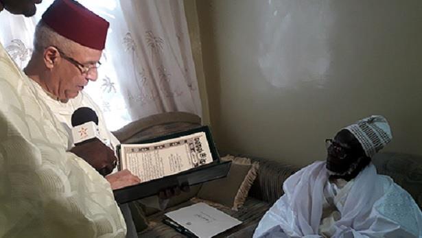 Sénégal: Ahmed Toufiq remet un message de condoléances du Roi au nouveau khalife de la confrérie mouride