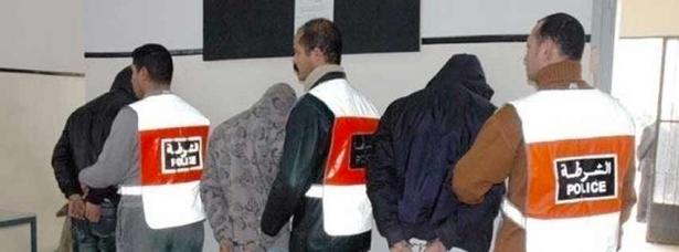 BCIJ: Arrestation d'une bande criminelle spécialisée dans le vol et dont le chef comptait utiliser le butin pour rejoindre Daech