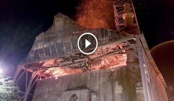 Grèce : une mosquée, monument ottoman, endommagée par un incendie