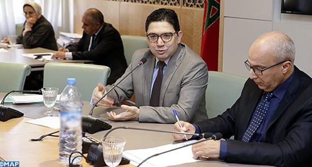 ناصر بوريطة يجدد التأكيد على تضامن المغرب الدائم مع الشعب الفلسطيني في الدفاع عن حقوقه المشروعة