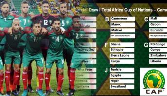 CAN 2019: un adversaire du Maroc se retire des qualifications