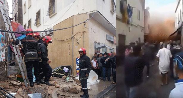 الدار البيضاء .. انهيار عدد من المنازل في المدينة القديمة يخلف حالة من الذعر