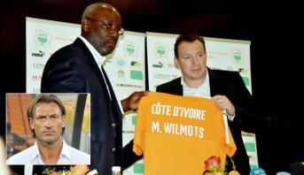 """رئيس اتحاد ساحل العاج لكرة القدم ينتقد هيرفي رونار خلال تقديمه المدرب الجديد لـ """"الفيلة"""""""