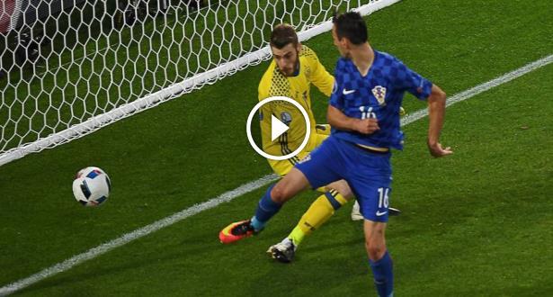 Euro 2016: la mauvaise soirée de Ramos face aux Croates