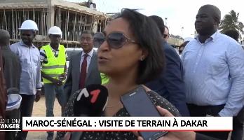 Une délégation visite les chantiers financés par le Royaume à Dakar