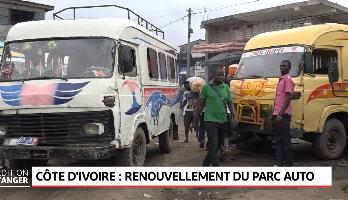Côte d'ivoire: renouvellement du parc auto