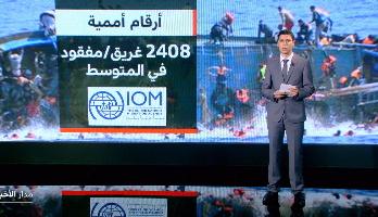 شاشة تفاعلية .. مآسي مهولة وأرقام مفجعة حول آفة الهجرة غيرالشرعية بالمتوسط