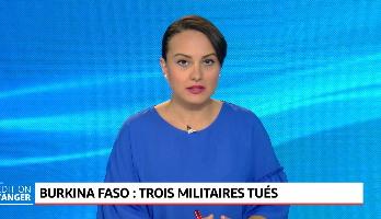 Burkina Faso: Trois militaires tués