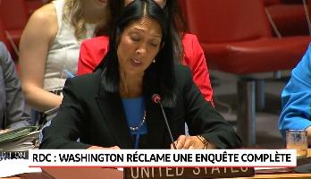RDC: Washinton réclame une enquête complète pour le meurtre de deux experts de l'ONU