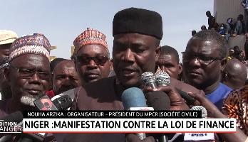 Niger: manifestation contre la loi de finance