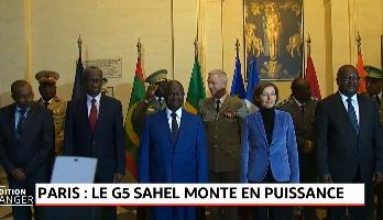 Paris: le G5 Sahel monte en puissance
