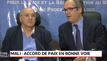 Mali: l'accord de paix en bonne voie