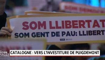 Catalogne: vers l'investiture de Puigdemont