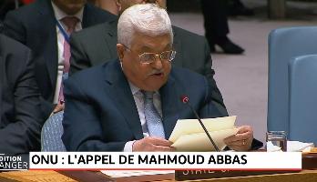 ONU: Abbas réclame une conférence internationale pour régler la question palestinienne