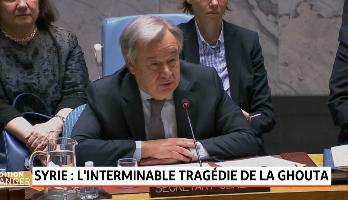 Syrie: tragédie humanitaire dans la Ghouta orientale