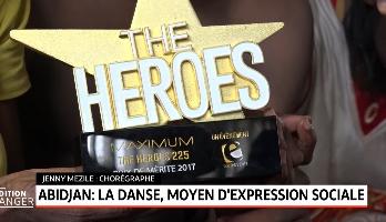 Abidjan:la danse, moyen d'expression sociale