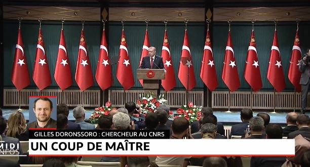 Turquie: le coup de maitre de Recep Tayyip Erdogan