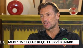 L'club reçoit Hervé Renard