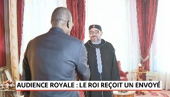 Le Roi reçoit un envoyé spécial du président nigérian, porteur d'un message écrit au Souverain