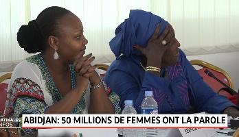 """Abidjan: Lancement du projet """"50 millions de femmes ont la parole"""""""