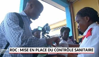 RDC: Mise en place du contrôle sanitaire