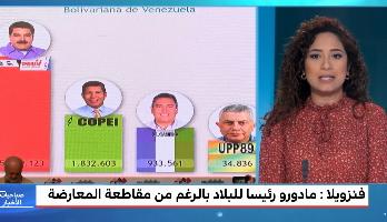 ملف.. مادورو رئيسا لفنزويلا لولاية ثانية في ظل خروقات واسعة