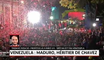 Venezuela - présidentielle: Maduro réélu
