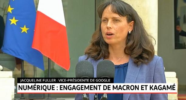 Numérique: engagement de Macron et de Kagamé