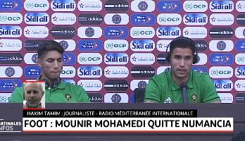 Football: Mounir Mohamedi quitte Numancia