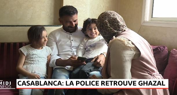 Casablanca: la police retrouve Ghazal