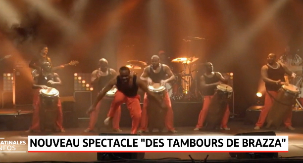 """France: nouveau spectacle des """"Tambours de Brazza"""""""