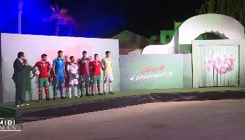 Mondial 2018: le maillot officiel des Lions de l'Atlas