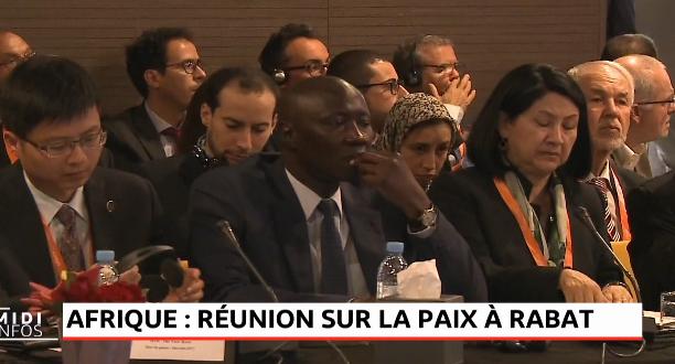 Afrique: réunion sur la paix à Rabat