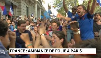 Mondial 2018: la France en Liesse