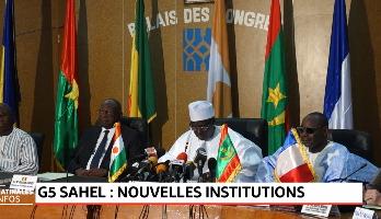 Niger: sommet des parlements des pays membres du G5 Sahel à Niamey