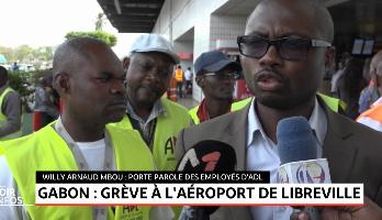 Gabon: grève à l'aéroport de Libreville