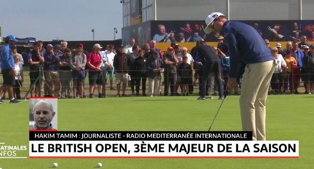 Golf: ça va swinguer au British Open!