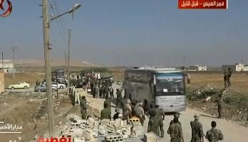سوريا .. استكمال إجلاء المدنيين من بلدتي كفريا والفوعة