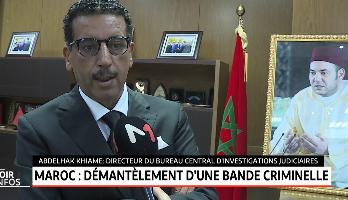 Maroc: Démantèlement d'une bande criminelle composée de 16 personnes dont un ressortissant algérien